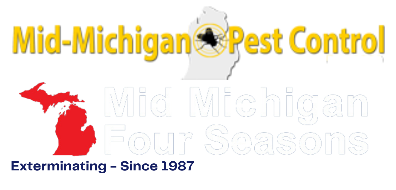 four season and mid michigan pest control logo